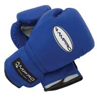 14oz PVC Sparring Glove Blue
