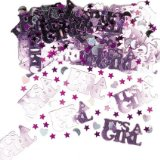 Its a Girl Table Confetti - Girls Christening or naming ceremony - great table decoration