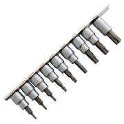 AMTECH 10Pc 3/8 Torque Bit On Rail I8200 product image