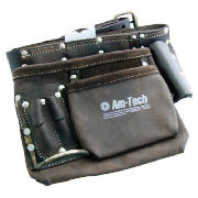 AMTECH 6 Pocket Heavy Duty Leather Tool Belt Oil product image