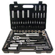 AMTECH 94Pc 1/2 & 1/4 Dr. Socket Set I0640 product image