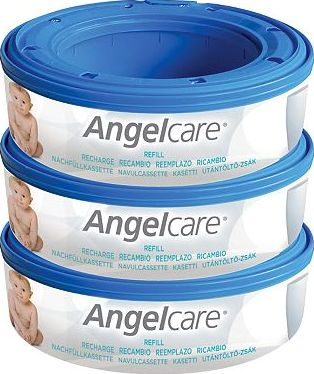 Angelcare, 2041[^]10073187 Nappy Refill Cassettes 3-Pack 10073187