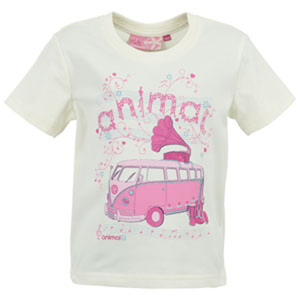Animal Girls Girls Animal Dabbs Crew Printed T-Shirt. Papyrus product image