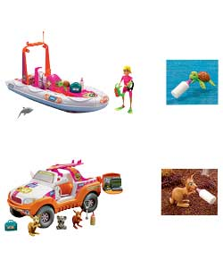 Animal hospital surf rescue and 4 x 4 adventure review compare