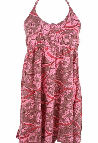 Ladies Animal Limahl Dress G22 Pink Carnation