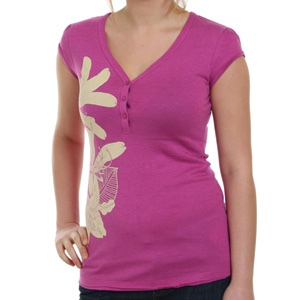Animal Ladies Anson V neck tee