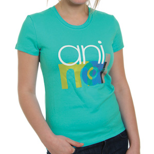 Animal Ladies Atterberry Tee shirt - Blue Bird
