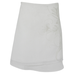 Animal Ladies Ladies Animal Trice Linen Skirt. White product image