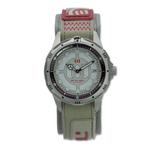 animal mens animal double o one watch red  cream - Men's watches