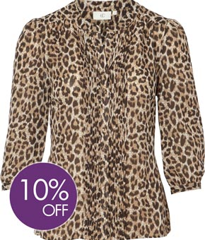 Animal Printed Blouse product image