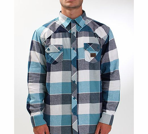 Silverback Hooded flannel shirt