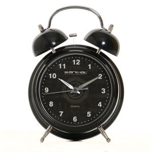 Tick Alarm clock - Black
