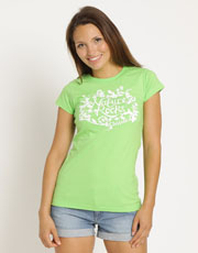 Womens Orchard T-Shirt - Flash Green