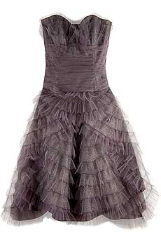 Anna Sui Exclusive Glitter Tulle Dress