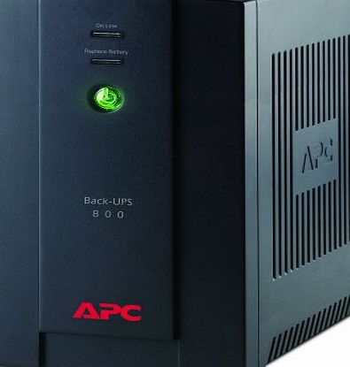 APC BX800CI Back-UPS 480 Watts /800 VA,Input 230V /Output 230V, 6 x IEC Connections