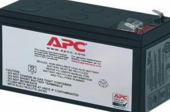 APC RBC106 - Black - Replacement Battery Cartridge