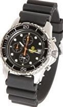 Apeks, 1192[^]87953 Chrono Watch With Rubber Strap - 100m