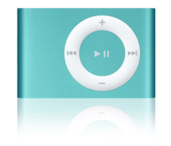 apple iPod Shuffle 1GB Blue product image