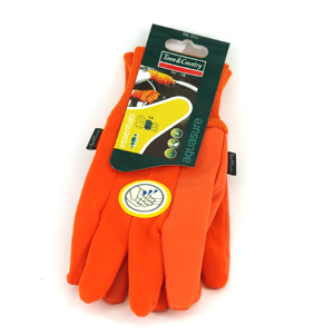Sure Jasmine Ladies Glove  Orange One Size