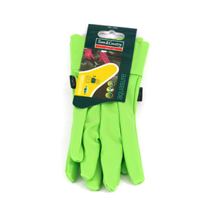 "Sure Orchid Ladies Glove "" Green One Size"