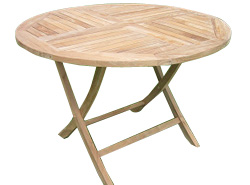 Arboreta Elita Round Folding Garden Table