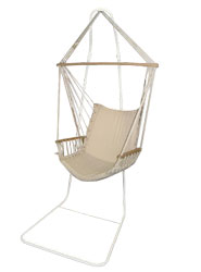Relax wherever you choose! This stand is designed for use with our hanging chair hammock and allows - CLICK FOR MORE INFORMATION