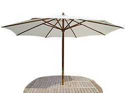 Quick and easy to put up this Parasol will shade you from the sun and shelter you from any breeze - CLICK FOR MORE INFORMATION