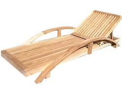The Haytor is a contemporary sun lounger crafted from premium grade teak - CLICK FOR MORE INFORMATION
