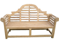 Garden Furniture - Lutyens Garden Bench 3 Person - CLICK FOR MORE INFORMATION