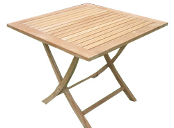 The Patchole is an elegant square folding table crafted from premium grade teak - CLICK FOR MORE INFORMATION