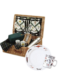 Arboreta Sporting Fishing Picnic Basket 2 person