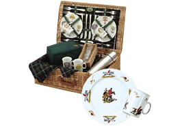 Arboreta Sporting Hunting Picnic Basket 6 person