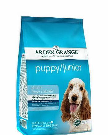 Arden Grange Puppy Junior Dog Food  Kg
