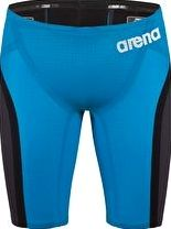 Arena, 1294[^]243429 Powerskin Carbon Flex Jammer - Blue and Grey