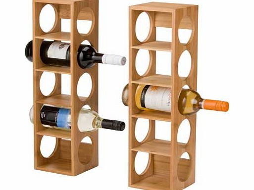 Argos 10 Bottle Bamboo Wine Rack Review Compare Prices