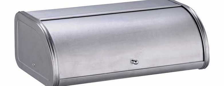 Argos Brushed Stainless Steel Bread Bin product image