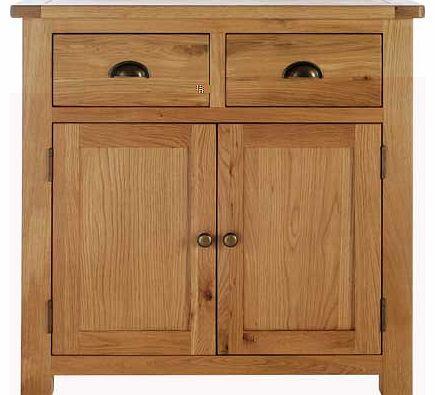 2 drawer 2 door sideboard. Black Bedroom Furniture Sets. Home Design Ideas