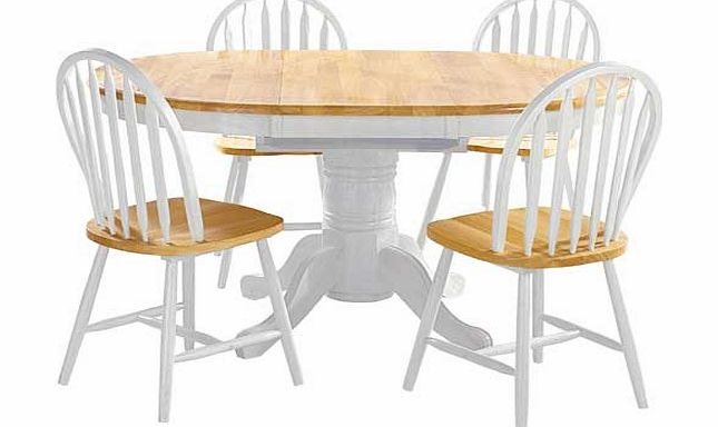 extending dining table and chairs : argos kentucky two tone extendable dining table and 4 from www.comparestoreprices.co.uk size 645 x 384 jpeg 29kB
