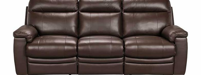 Argos Paulo Leather Effect Large Recliner Sofa Review