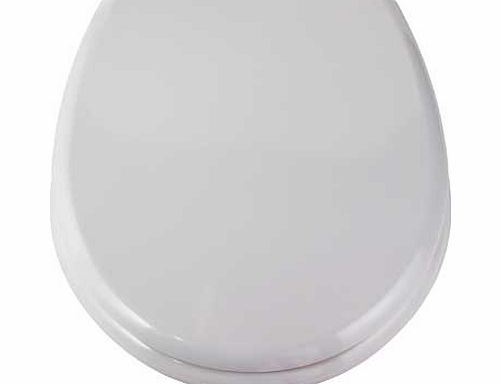 argos slow close easy clean toilet seat white review. Black Bedroom Furniture Sets. Home Design Ideas