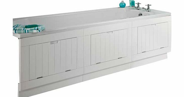 Argos storage bath panel white review compare prices for Storage bath panel