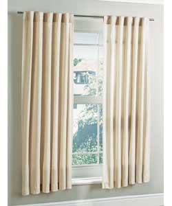 Argos Value Range 46 X 72 Calico Slot Top Curtains