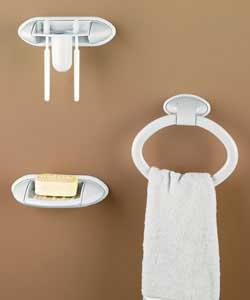 3 piece towel set for Bathroom accessories argos