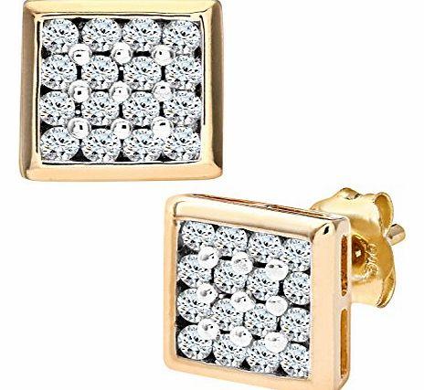 Ariel   Carat Diamond Drop Earrings In Ct White Gold