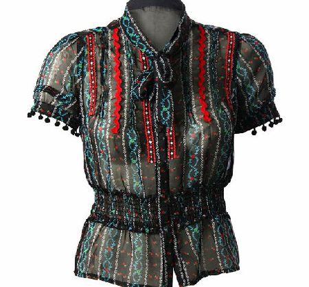 بلوزات صيفى شيفون 2014 Ariella-chiffon-blouse