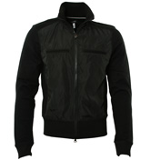 Armani Black Full Zip Sweatshirt