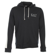 Armani EA7 Dark Slate Hooded Sweatshirt