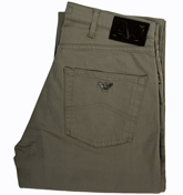 Armani Jeans (J70) Cement Grey Straight Leg