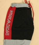 Mens Armani Black- Red & Mint Green Swimswear Shorts