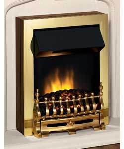Arno Brass Electric Fire product image